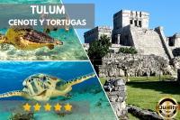 Tulum Full Day (Tulum, Tortugas y Cenote)