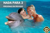 Nado con delfines Couples